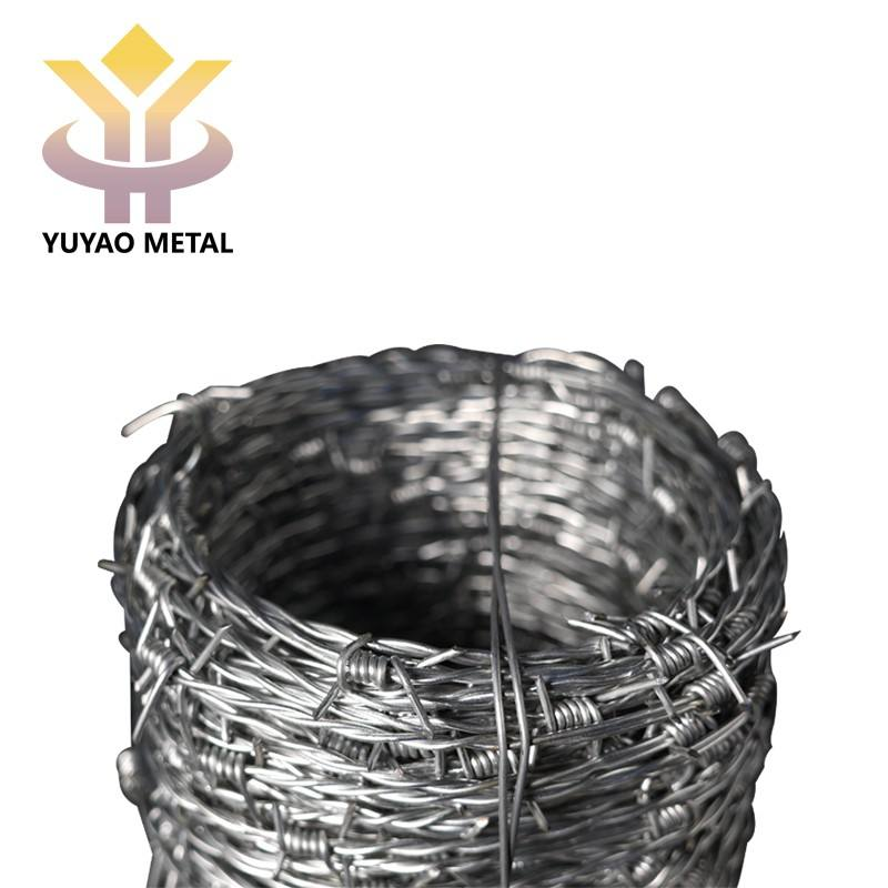 Anping cheap iron galvanized barbed wire for protection
