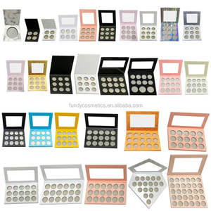 Custom your own brand makeup eye shadow palette empty makeup eyeshadow palette with private label
