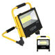 Integrated All In One Waterproof Outdoor Camping Dimmable 100W Rechargeable Solar Led Floodlight
