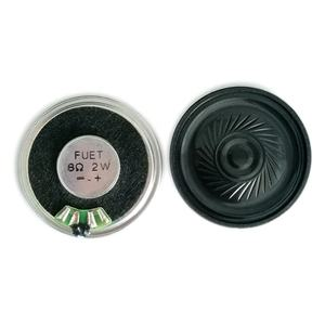 Manufacture 8ohm 1W 40mm Round Speaker Inner Magnet Metal Frame Audio Mylar Speaker Headphones Speaker Components