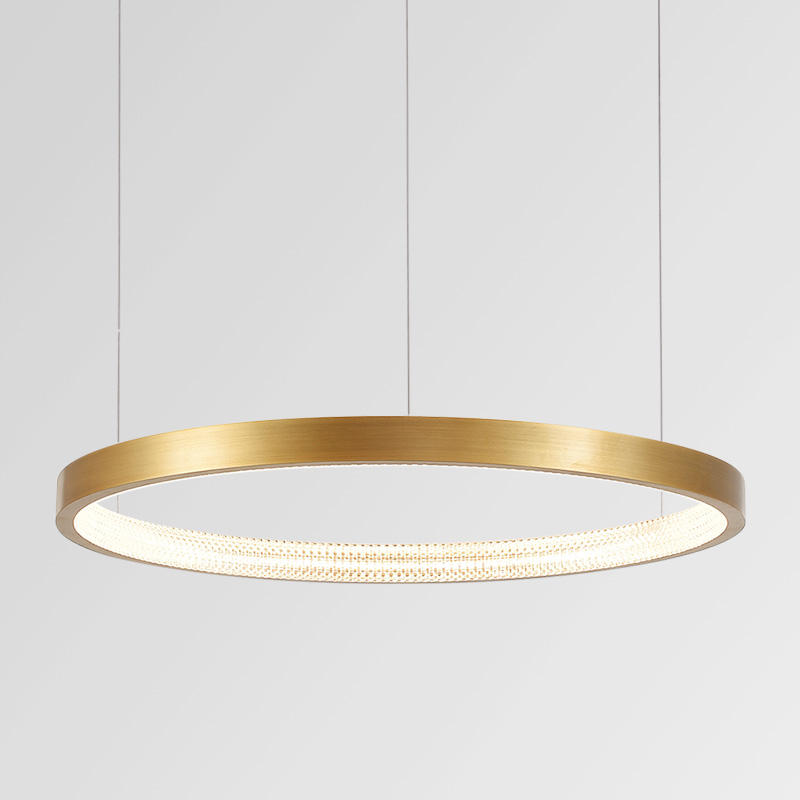 ST-1607-85 gouden ringen moderne led <span class=keywords><strong>lamp</strong></span> opknoping ring hanglamp voor woonkamer.