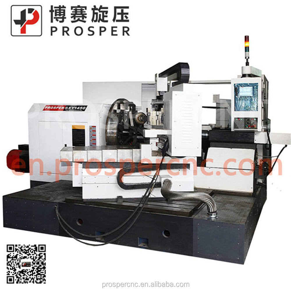 China high quality cnc lathe for metal spinning machine low price