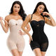Slim Body Shaper High Waist Double Control Adjustable Hooks And Zipper Slimming Full Body Shapewear For Women