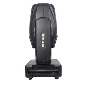 Double Prisms 250W Sharpy Beam Gobo Moving Head Stage Lights With RDM