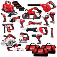 2019 GOOD NEW Milwaukees M18 18V Cordless 15-Piece Combo Kit for sale