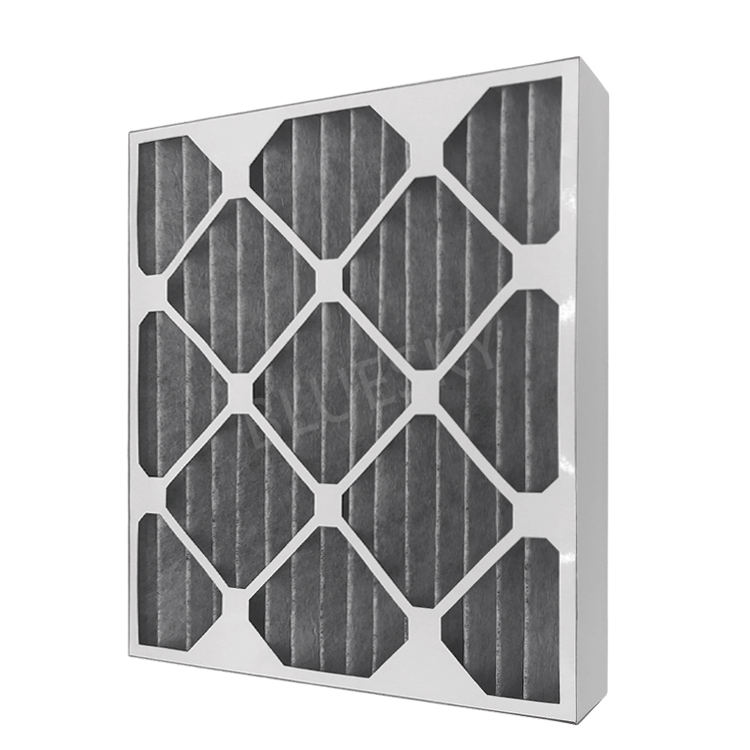 Custom Size 15.4*13.2*1.8 zoll High Efficiency Merv 8 Pleated Carbon AC Furnace Air Filters