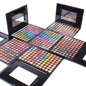 Kualitas Tinggi Glitter Shimmer Rainbow 88 Warna Multi Colored Private Label Makeup Eyeshadow Palet