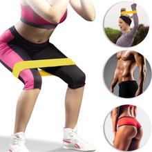5pcs Training Fitness Gum Exercise Gym Strength Resistance Bands Pilates Sport Rubber Fitness Bands Workout Equipment
