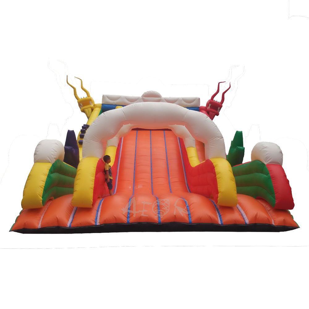 Kids Inflatable Slide Inflable for Fun 2020 Dragon Outdoor Pantone Bag Accessories Customized Logo