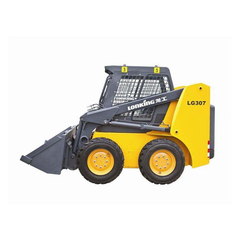 High Load Moment New Style Mini Skid Steer Loader With Tracks