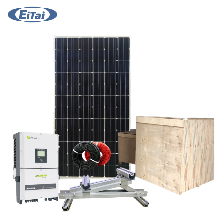 ETG77 Solar Farm System 1MW with 1 MW Solar Panel 1MW Solar Power Plant