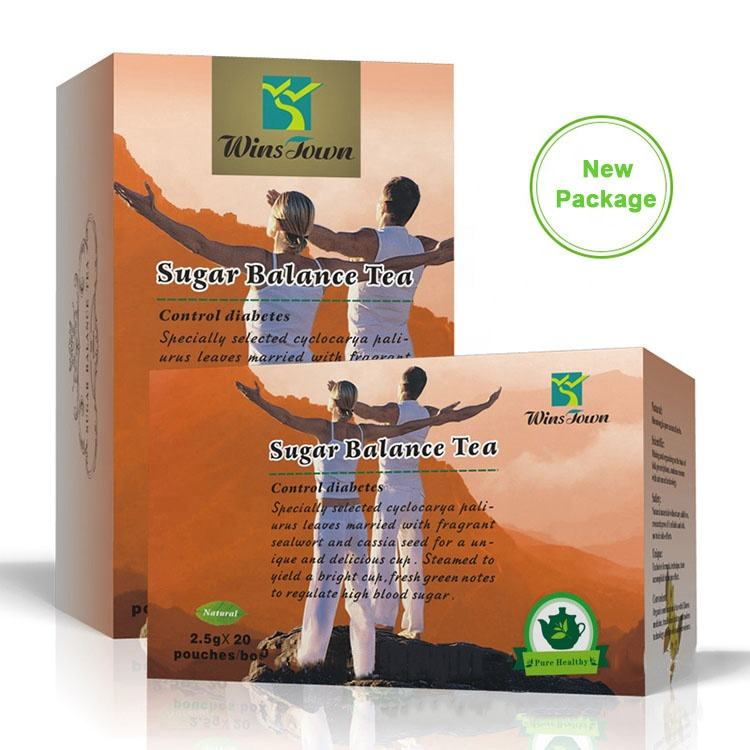 Chinese Medicinal Herbal Control Diabetes Sugar Balance Tea