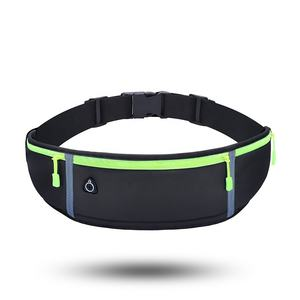 in stock sport waist bag waterproof waist bag for cell phone Adjustable Flip Fanny Pack Running Belt