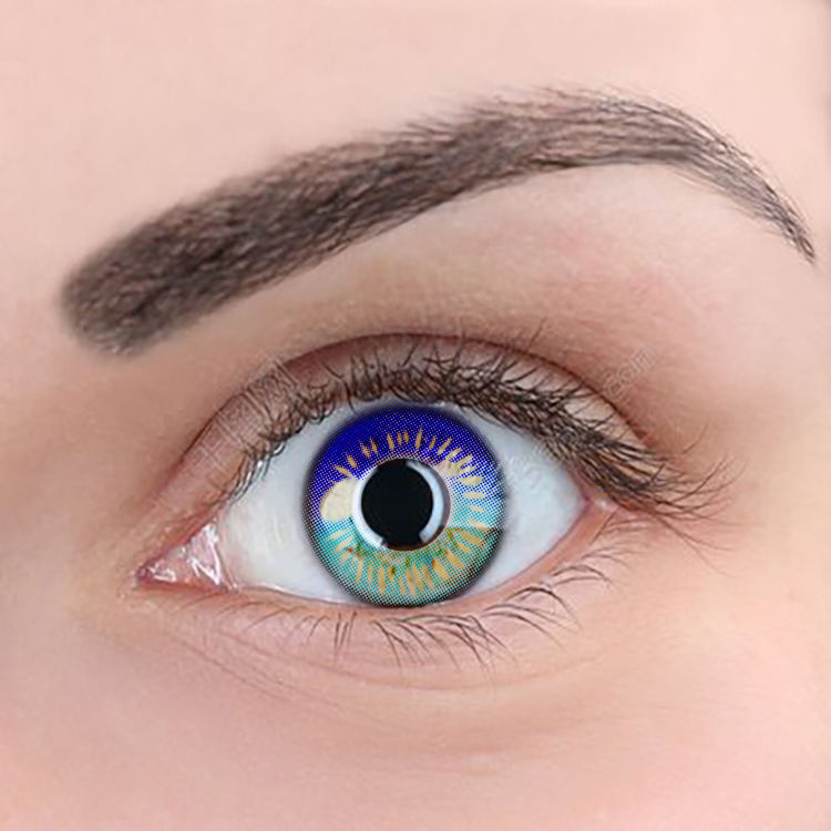 Meetone Coscon 8 funny beauty colors magic eye anime cosplay contact lens