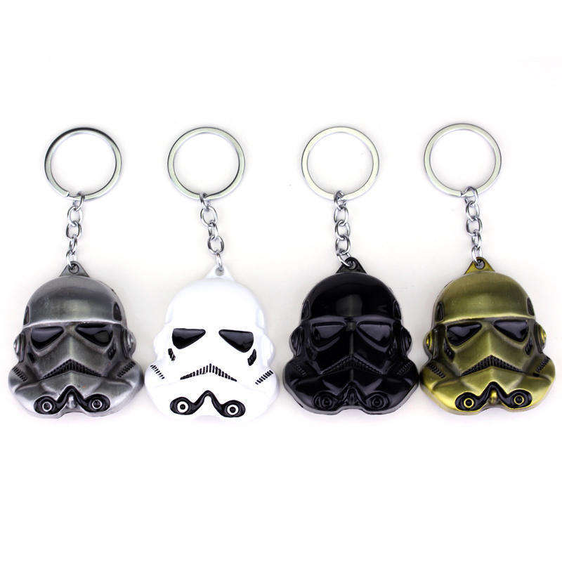 Star Wars Darth Vader Imperial Stormtrooper Alloy Key Chains Keychain Keyring