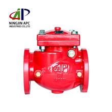 Good Price HIGH QUALITY LOW PRICE FM APPROVED AWWA C508 SWING NON RETURN VALVE WITH FLANGE CONNECTION