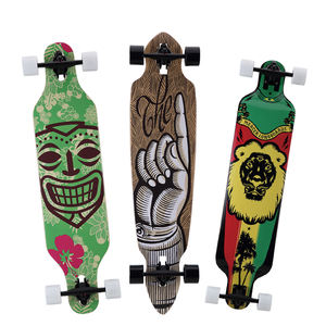 downhill longboard cruiser skateboard deck wooden skateboard