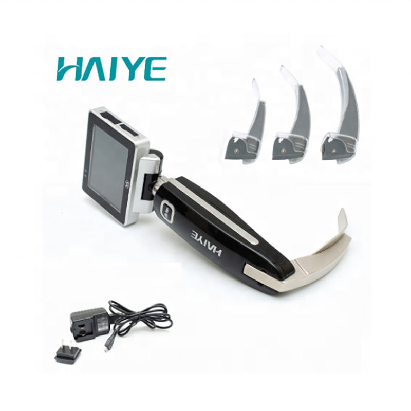 Auxiliary intubation mri compatible laryngoscope for clinic