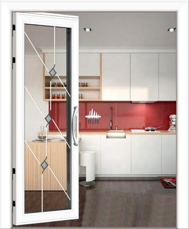 High quality black arrow aluminum frame new design casement door