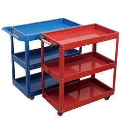 Mechanic Utility Cart Storage Trolley With Shelves Tool  trolley cart