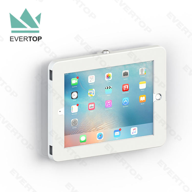 LSW01-H Full Covered Slim Wall Mounted for iPad Enclosure Wall mount Bracket Tablet Kiosk for iPad/Samsung Galaxy Tab Enclosure