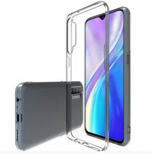 Ultra Thin 1.0mm Slim TPU Transparent Soft Case for Realme 6 5i xt c2 c3 c11 Back Cover