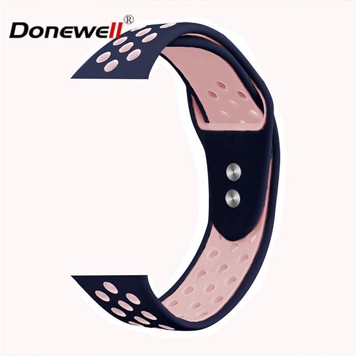 Guang zhou silicone watchband quick release colored strap watch For nike