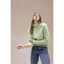 Customized Turtleneck Knit Sweater Knitwear Cashmere Fabric