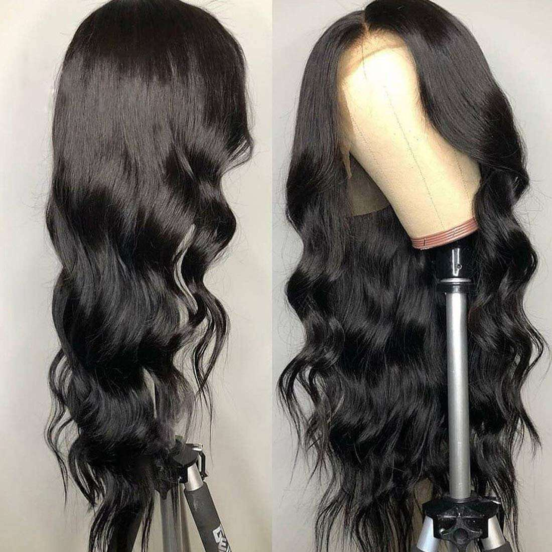 Same Day Delivery Stock Body Wave Wavy Synthetic Lace Front Hair Wig,High Quality Synthetic Lace Front Wigs