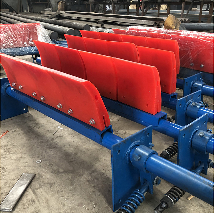 Food Beverage Factory [ Machinery Mining ] Factory Processing Machinery For Mining Belt Head Road 2 Polyurethane Sweeper Scraper