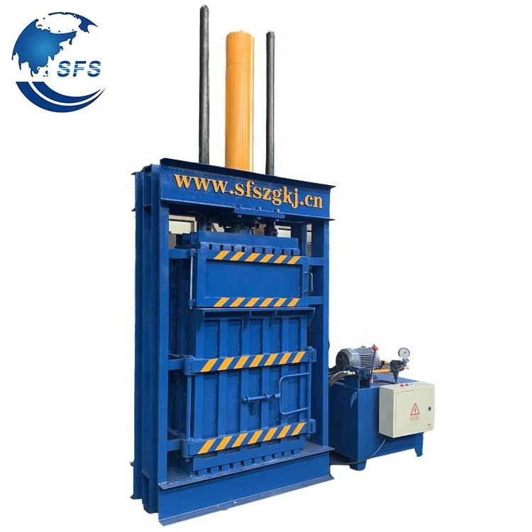 Hydraulic Waste Paper Recycling Baler Press Machine