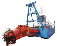 Designed machinery ship river sand dredge boat