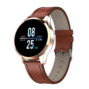 Robotcube Q9 Smart Watch Gelang Tahan Air HR Sensor Heart Rate Tekanan Darah Monitor Fashion Kebugaran Tracker Smartwatch