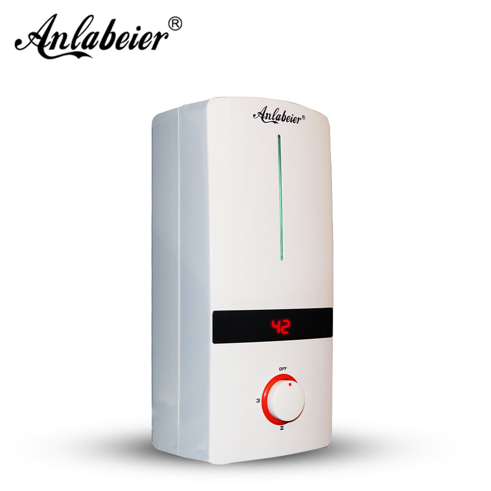 Free shipping instant electric water heaters smart water geyser electric bathroom heating showers to India
