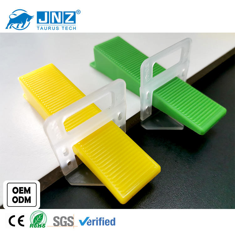 Taurus plastic tile leveling system / clips and wedges ceramic tile leveling / install tools tile leveling system spacer