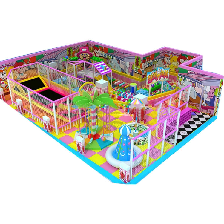Popular Commercial Children Indoor Playground Equipment