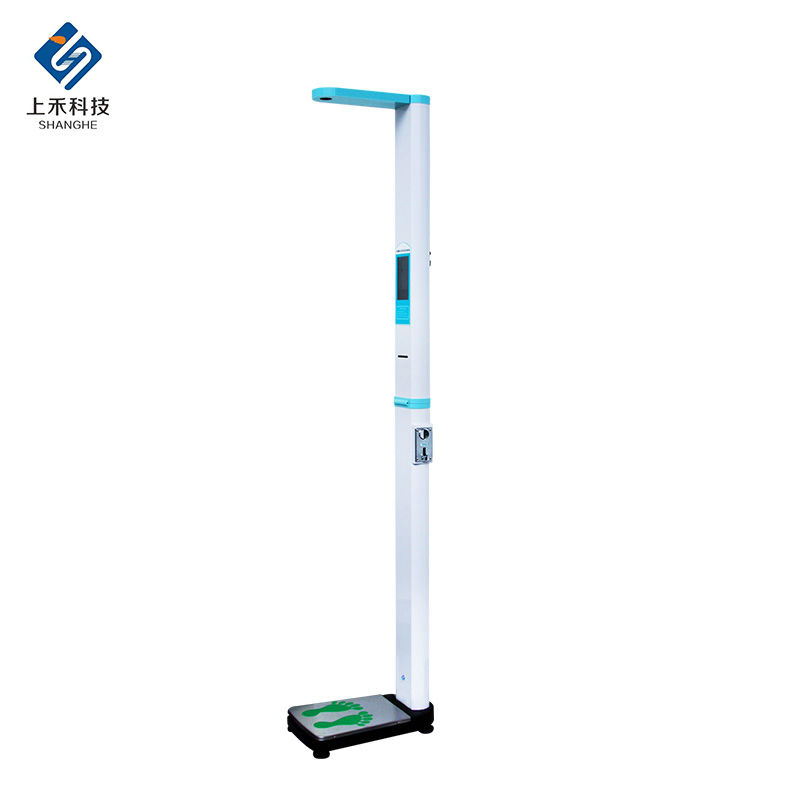 portable body scale with printer height and weight machines for gym ultrasound stand bim foldable scale