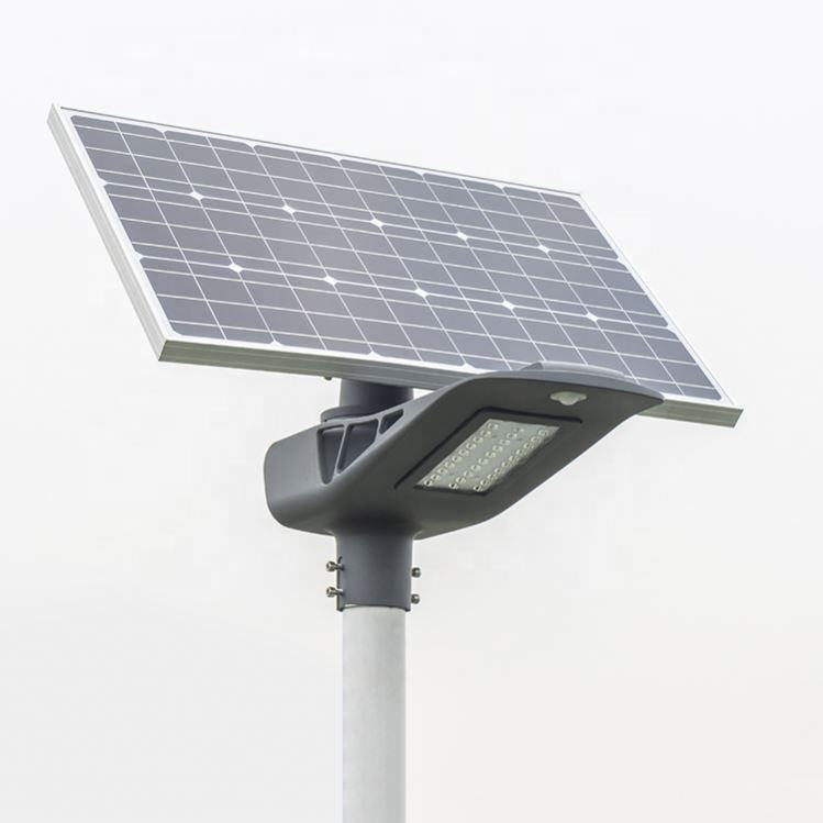 <span class=keywords><strong>Outdoor</strong></span> IP65 20W 30W 40W 50W 60W Zonne-straat Licht Met Slimme Controle Systeem Iot mobiele Toepassingen Iot Toepassing