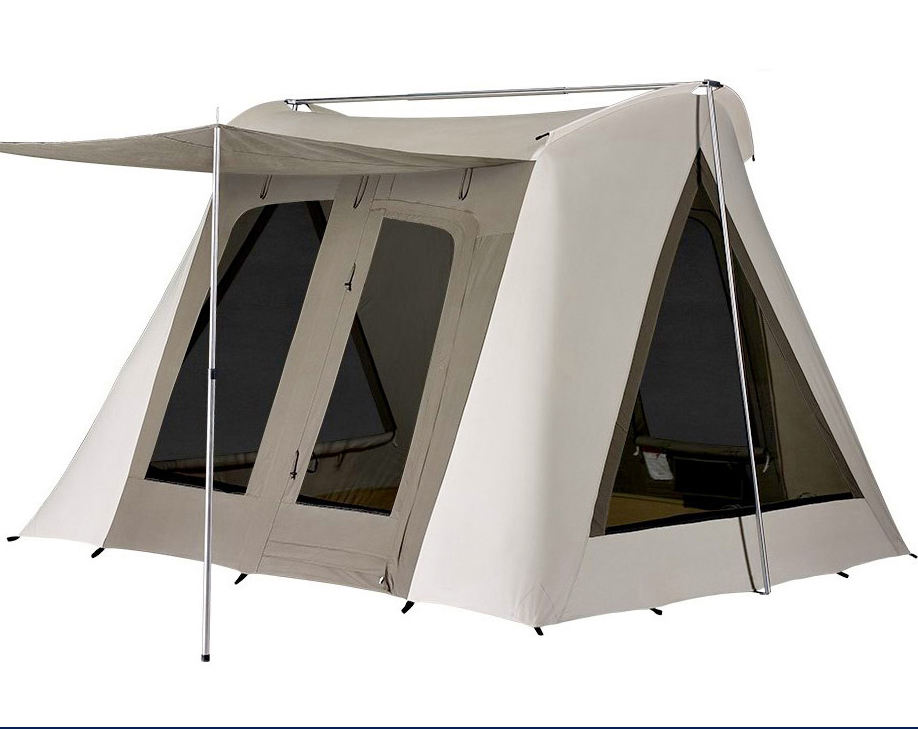 Outdoors Canvas Flex-bow Tent Spring Bar Tent for Sale