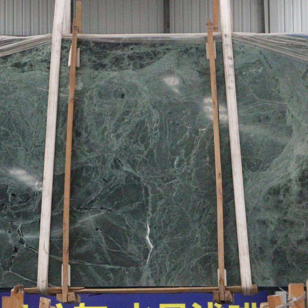 Natural Green Vein Marble Dark Green Onyx Marble Exotic Green Marble Slab