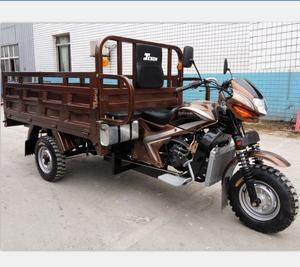 motorized tricycles 250CC SAOITN cargo motorcycle truck big wheel tricycle for adult