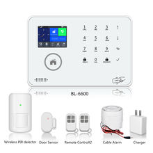 Wireless PIR infrared alarm system WIFI GSM 3G home security burglar alarm