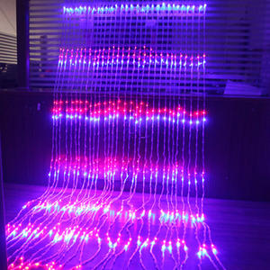 3x2M/3x3M/6x3M water flow snowing effect curtain led waterfall string Light Christmas Diwali lights
