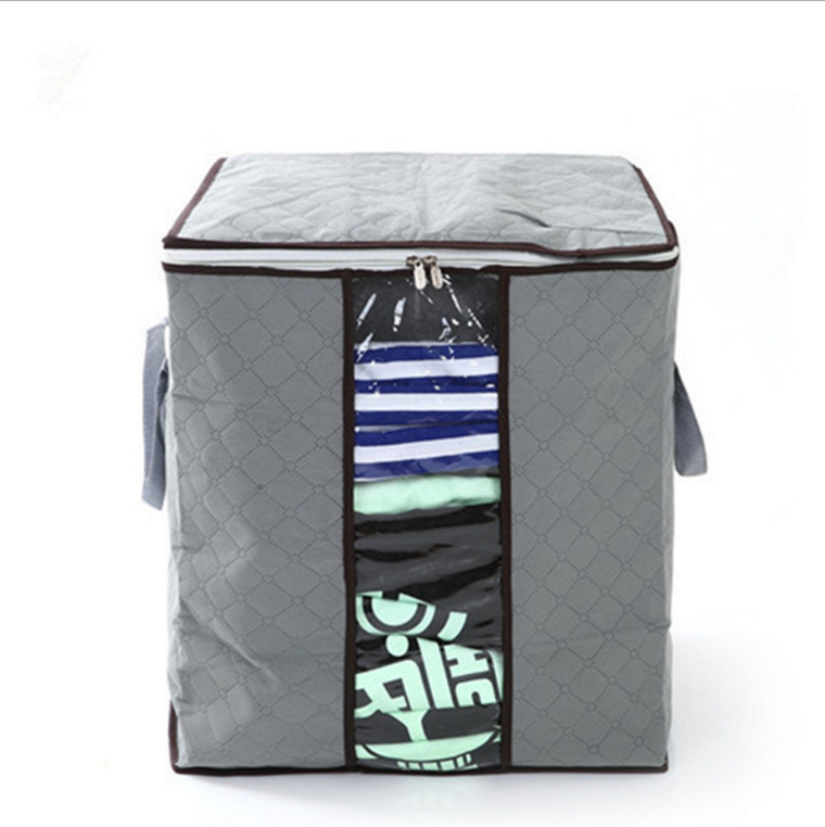 Small Quantity Customer Design Storage Bag Foldable Oversized Clothes Packaging Bag