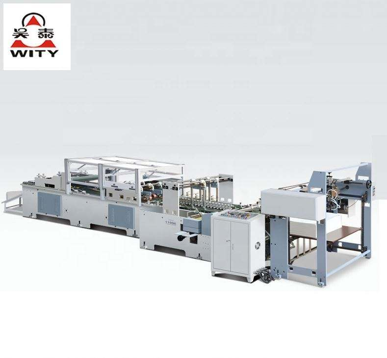 Paper Bag Making Machine Handbag Forming Machine