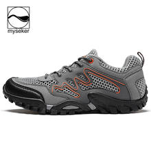 Men Hiking Shoes Outdoor Ear Clamp Sepatu Gunung Pria Ran Trekking Mountain Women Boots Merrell Military MenS
