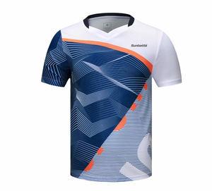 Yonex Men/'s Badminton Round T-Shirts Clothing Sky Blue Racquet Racket 99TR007M