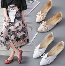 New morden design ladies shoes wholesale woman fancy bowknot fashion flat shoes