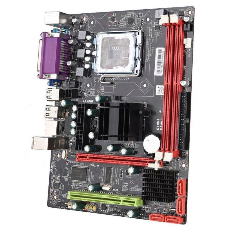 SZMZ バルク輸出インテル G31 プラットフォーム LGA 771/775 ソケットのマザーボード
