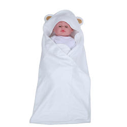 Baby hooded towel plain baby hooded towel bath baby hooded towel